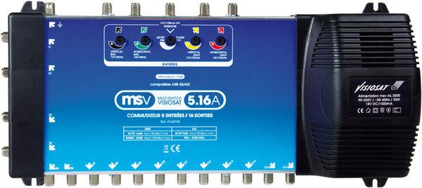 Visiosat MSV5 16A Vue principale