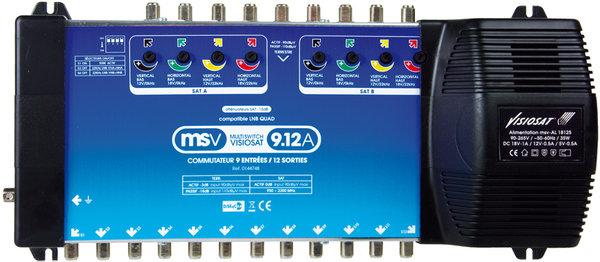 Visiosat MSV9 12A Vue principale