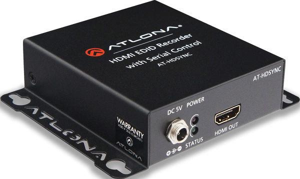 Atlona AT-HDSync Vue principale