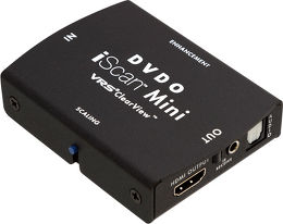 DVDO iScan Mini Vue principale
