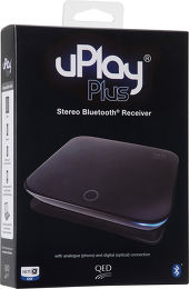 QED uPlay Plus Vue Packaging