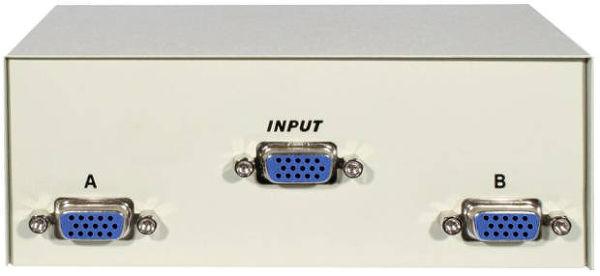 SVD Pro Commutateur VGA Vue principale