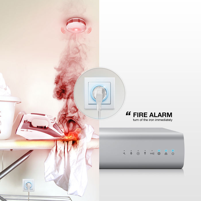 Fibaro Smoke Sensor Plus