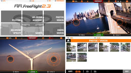 Parrot AR.Drone 2.0 Elite Application