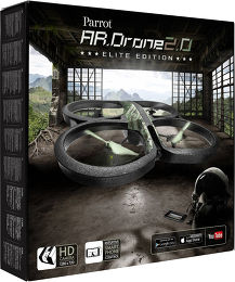 Parrot AR.Drone 2.0 Elite Vue Packaging