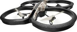 Parrot AR.Drone 2.0 GPS Edition Vue 3/4 droite