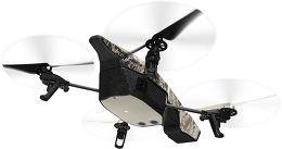 Parrot AR.Drone 2.0 GPS Edition Vue arrière