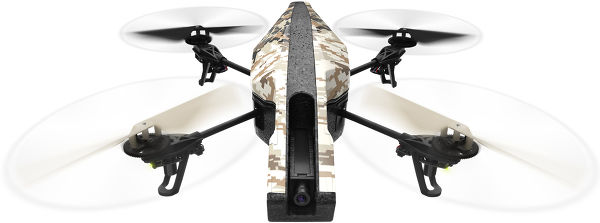 Parrot AR.Drone 2.0 GPS Edition Vue principale