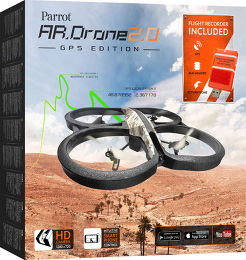 Parrot AR.Drone 2.0 GPS Edition Vue Packaging