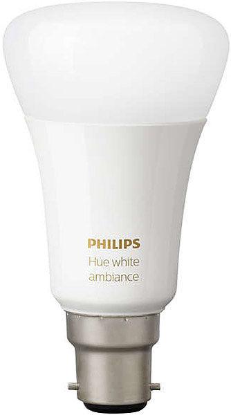 Éclairage connecté Philips Hue Ambiance B22