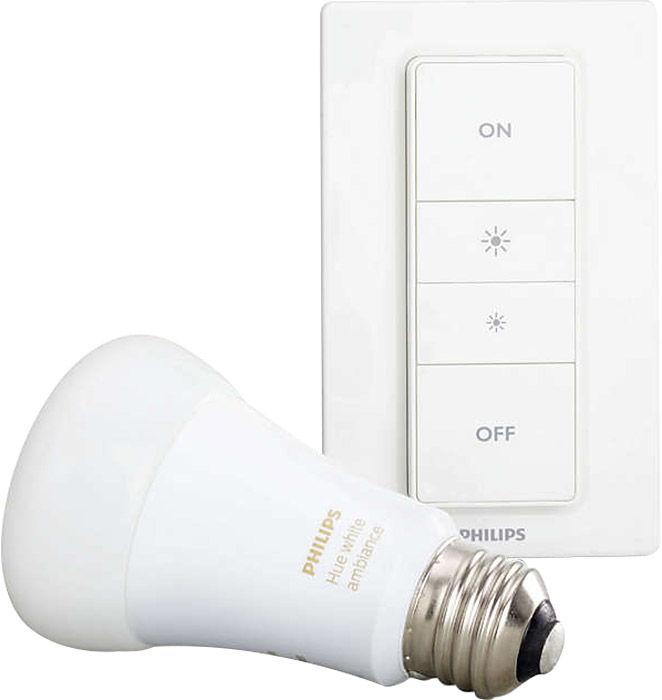 Éclairage connecté Philips Hue Light Recipe Kit Ambiance E27