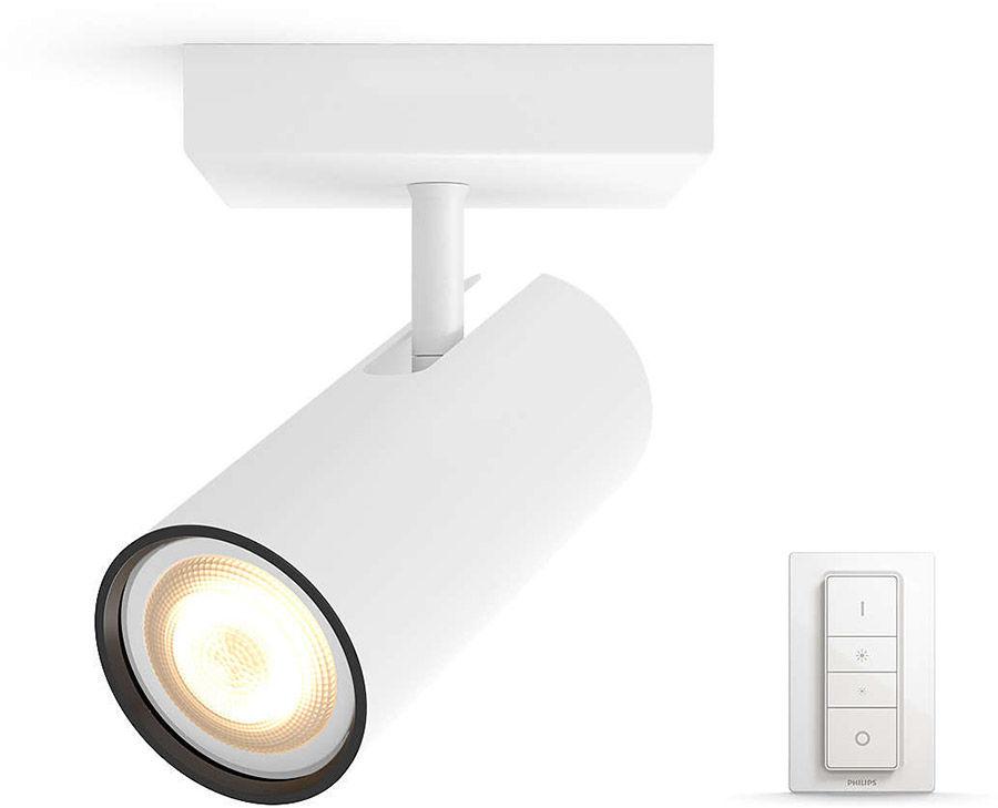 Éclairage connecté Philips Hue Buratto 1 Spot Blanc