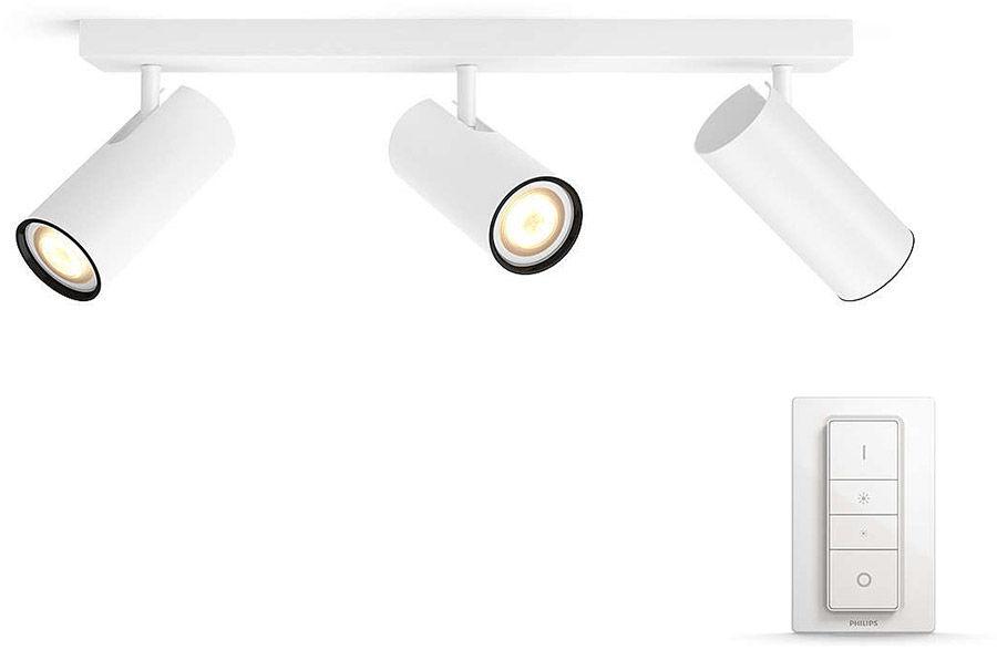 Éclairage connecté Philips Hue Buratto 3 Spots Blanc