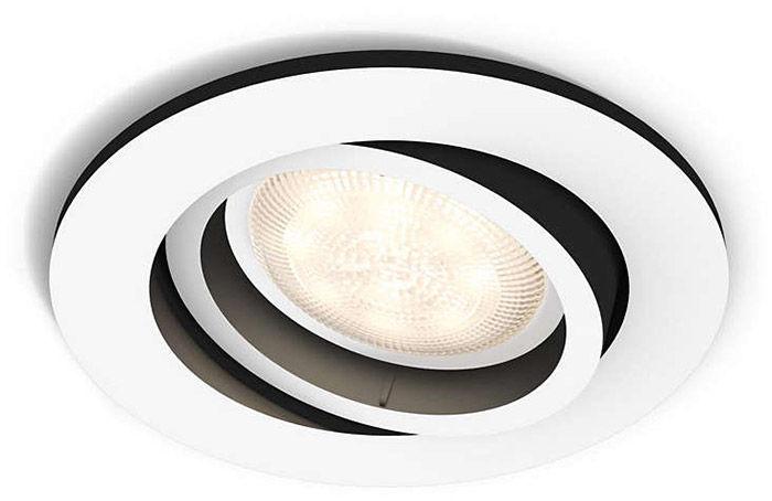 Éclairage connecté Philips Hue Milliskin Rond Blanc (sans télécommande)