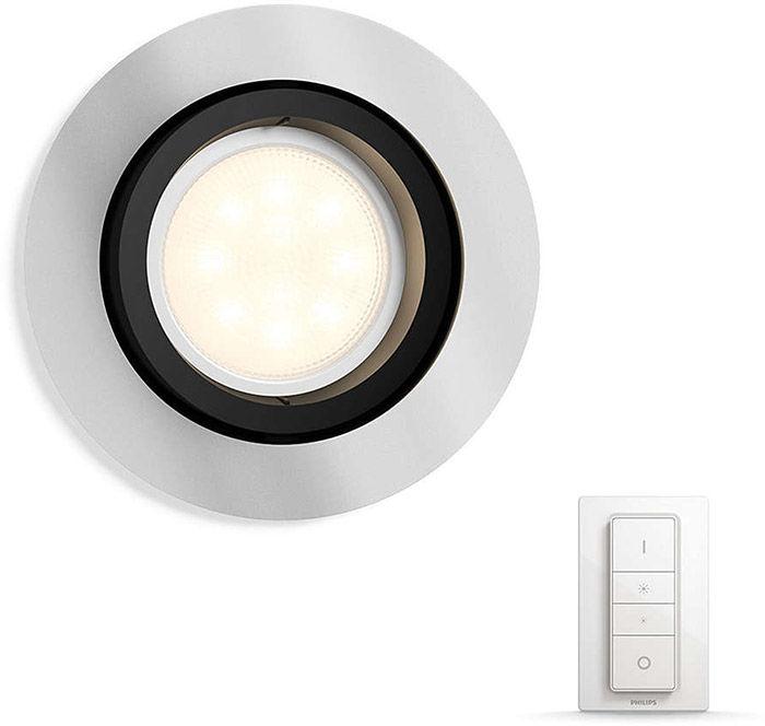 Éclairage connecté Philips Hue Milliskin Rond Chrome