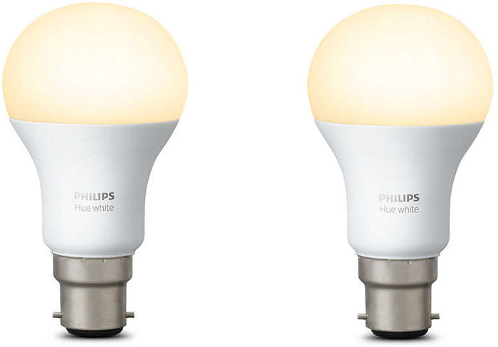 Éclairage connecté Philips Hue Hue White Duobox B22 (lot de 2 ampoules)