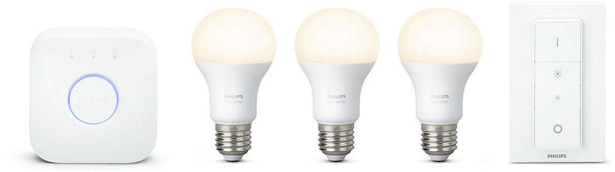 Éclairage connecté Philips Hue Kit de démarrage White E27