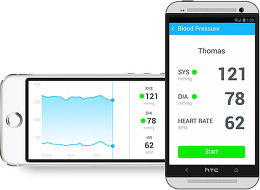 Withings Wireless Blood Pressure Monitor Application