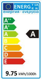 AwoX StriimLight Etiquette énergétique