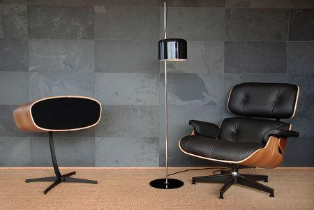 davone ray s enceintes colonne son vid. Black Bedroom Furniture Sets. Home Design Ideas