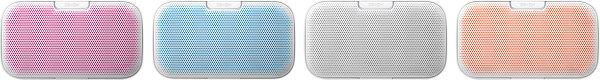 Denon Envaya Blanc - 4 caches de couleurs différentes