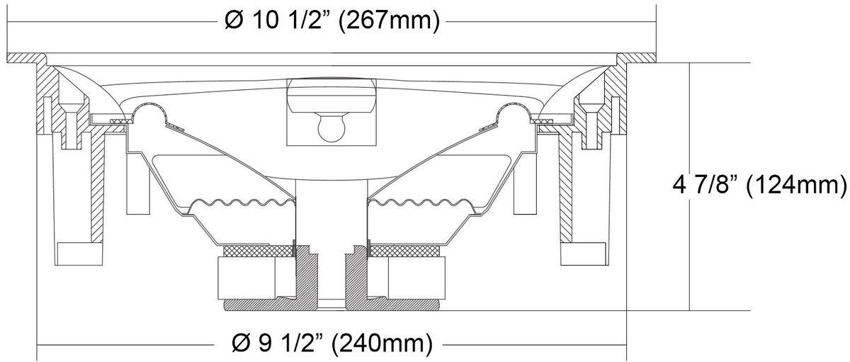 earthquake ecs 8 0 enceintes encastrables son vid. Black Bedroom Furniture Sets. Home Design Ideas