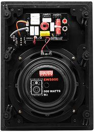 Earthquake EWS-800 Vue arrière