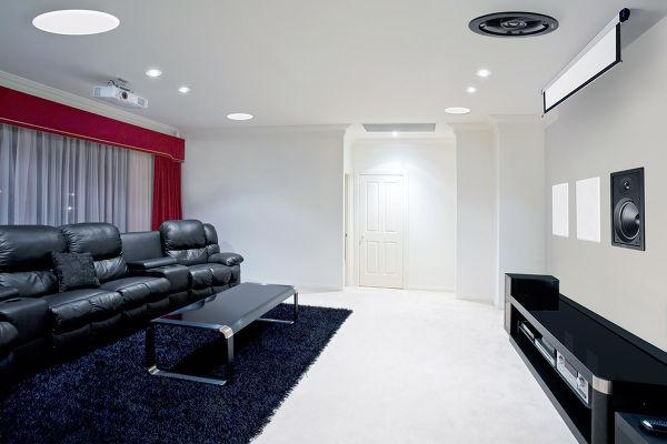 installer des enceintes encastrables sur son vid. Black Bedroom Furniture Sets. Home Design Ideas
