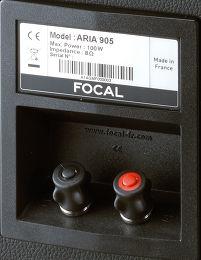 Focal Aria 906 Vue arrière