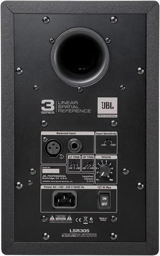 JBL LSR 305 arrière