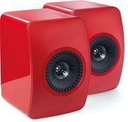 KEF LS50 Rouge laqu�