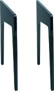 La Boite Concept Pieds Noir laqué pour station HiFi LD120 / LD130