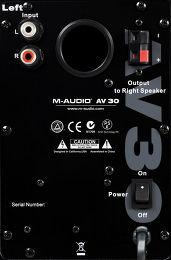 M-Audio Studiophile AV30 V2 Vue de détail 1