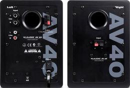 M-Audio Studiophile AV40 V2 Vue arrière
