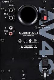 M-Audio Studiophile AV40 V2 Vue de détail 1