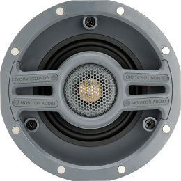 Monitor Audio CWT 140 Grille Ronde Vue principale