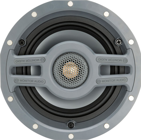 Monitor Audio CWT 160 Grille Ronde Vue principale