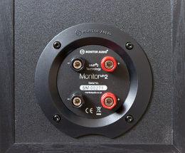 Monitor Audio MR2 Vue arrière