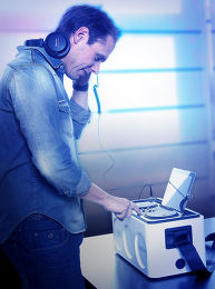 Philips M1X-DJ Mise en situation 2