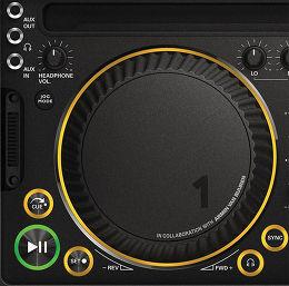Philips M1X-DJ Vue de détail 1