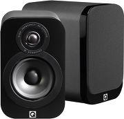 Q Acoustics 3010 Simili-cuir noir