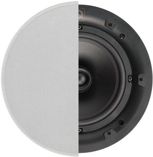 Q Acoustics Qi65C avec grille ronde