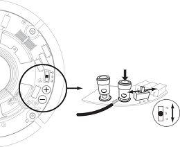 Q Acoustics Qi65C Performance Vue de détail 3