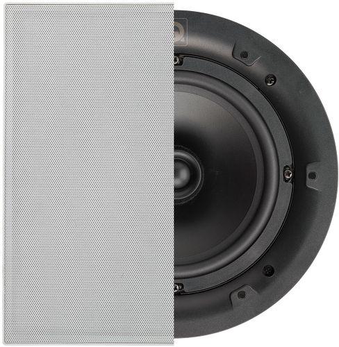 Q Acoustics Qi65S avec grille carrée