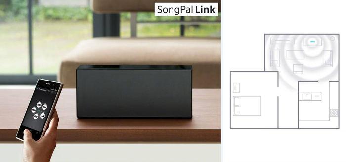 sony srs x77 blanc enceintes connect es sur son vid. Black Bedroom Furniture Sets. Home Design Ideas