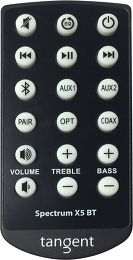 Tangent Spectrum X5 BT Vue Accessoire 1