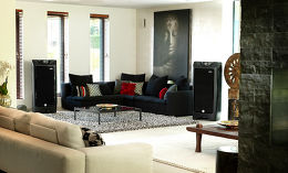 Tannoy Prestige Kingdom Royal Carbon Black Mise en situation 1