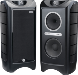Tannoy Prestige Kingdom Royal Carbon Black Vue principale