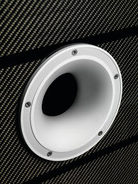 Tannoy Prestige Kingdom Royal Carbon Black Vue de détail 2