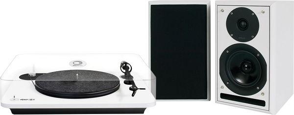 Platine vinyle Elipson Alpha 50 + enceintes sans fil Eltax Monitor III BT Phono